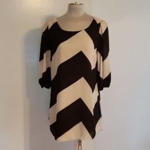 GB Chevron Dress
